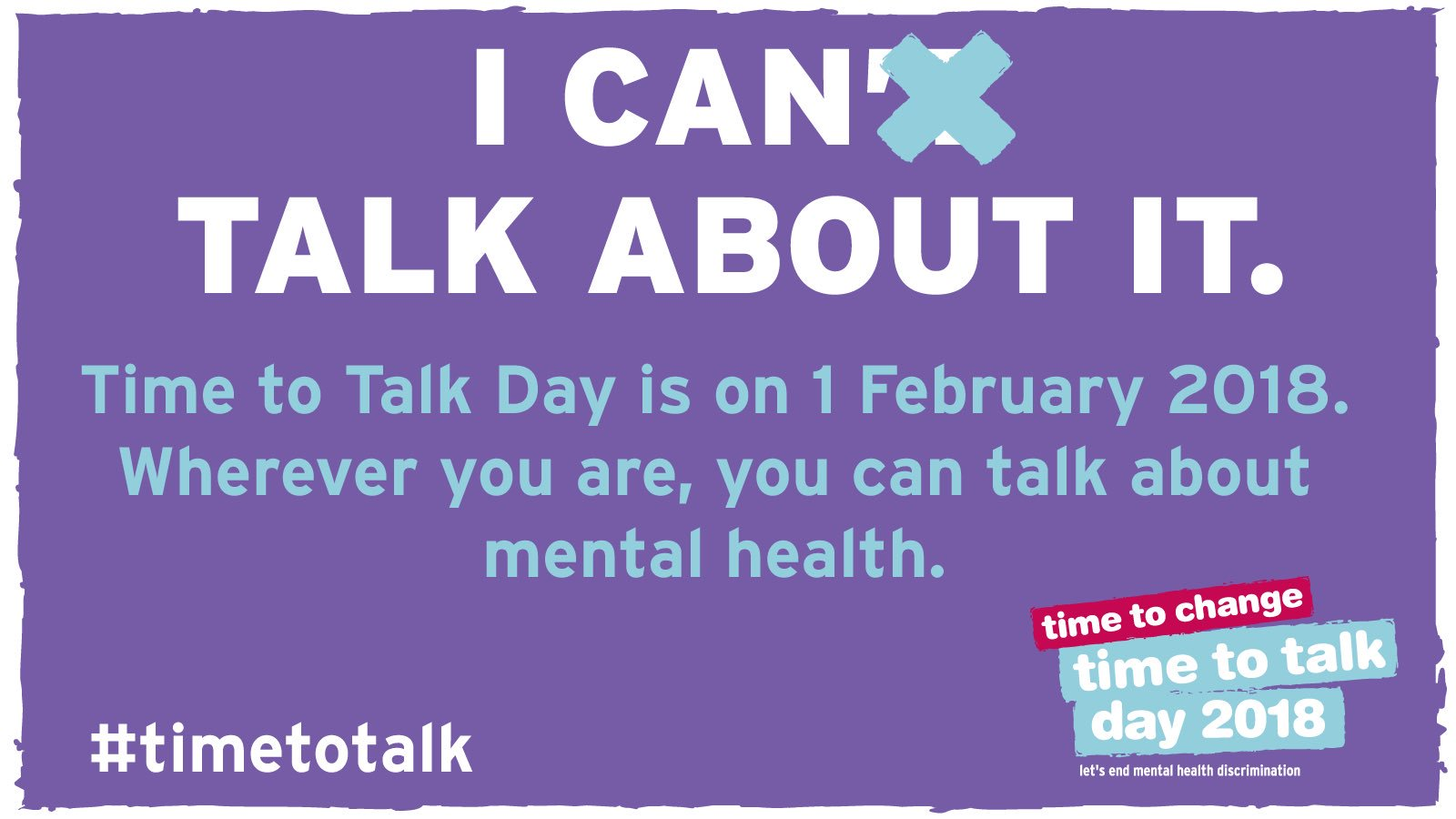 Today Is Its Time to Talk Day Today Is Its Time to Talk Day new picture